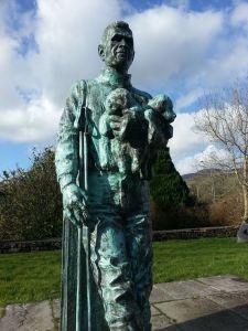 The Statue in the Tom Crean Memorial Garden