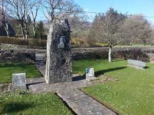 The Memorial Garden in Annascaul Village