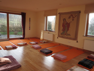 Yoga Room At Shanti Path Yoga Centre