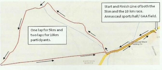6 August: Pole to Pole Annascaul 10k road race & 5k walk/jog/run